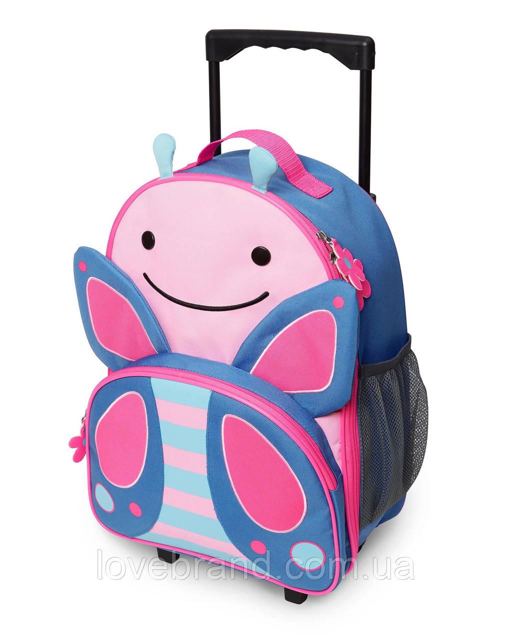 Детский чемодан SkipHop Бабочка для девочки