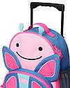 Детский чемодан SkipHop Бабочка для девочки, фото 3