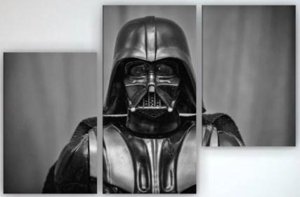 Картина модульная на холсте Darth Vader 90х60