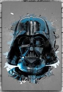 Картина  на холсте 60х40 Звездные войны Дарт Вейдер