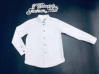 Рубашка нежно голубого цвета для мальчика Jacadi, Франция 10лет (140см)