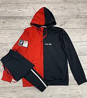 Мужской спортивный костюм NASA, турецкая двухнитка, логотип принт, S M L XL