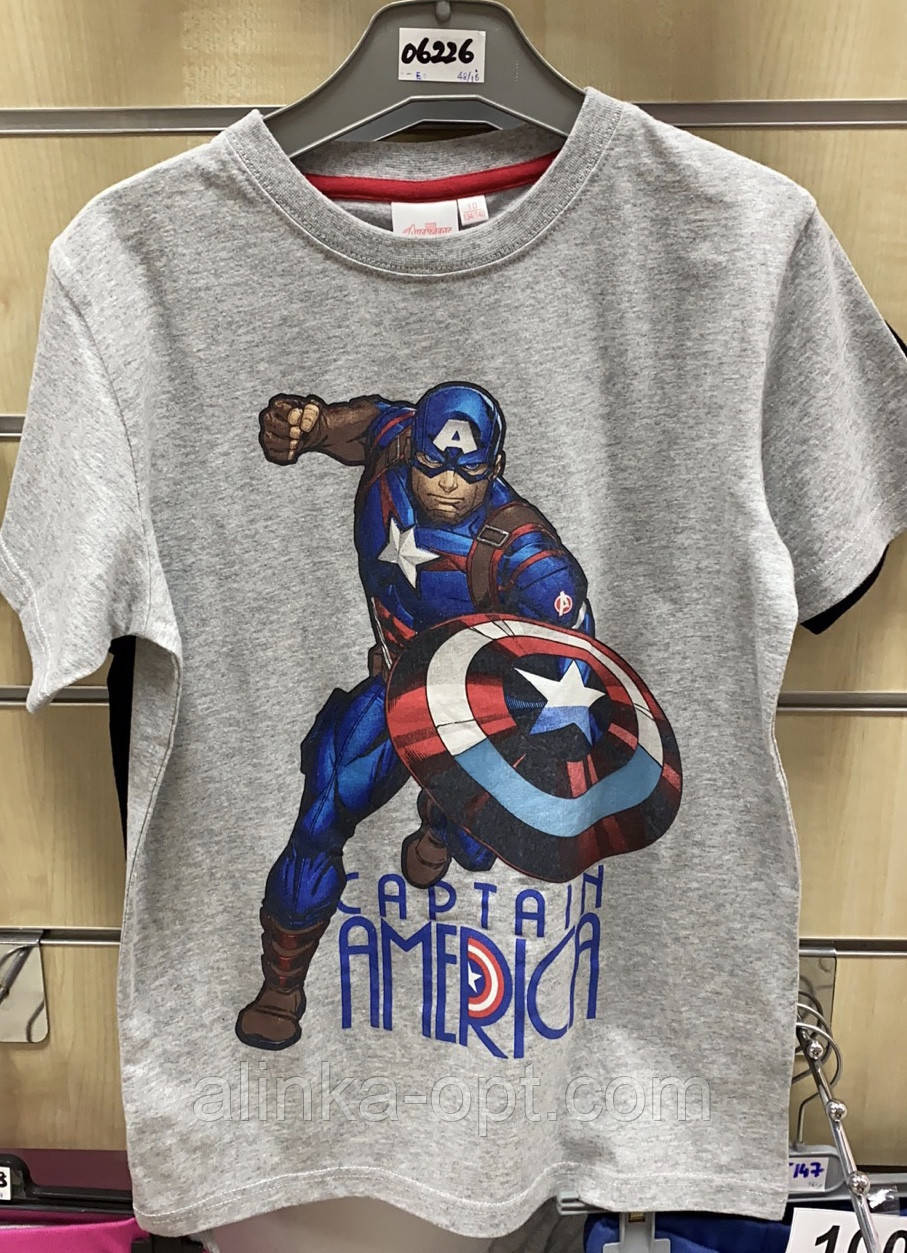 Футболка для мальчиков Avengers, 10-16 лет. Артикул: 06226