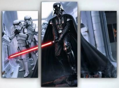 Картина модульная 90х70 Darth Vader