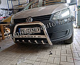 Захисна дуга, кенгурятник Volkswagen Caddy 2010-2015 (Туреччина), фото 4