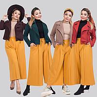 Женский стильный костюм двойка (короткий пиджак и кюлоты) /разные цвета, 42-62, ST-56922/