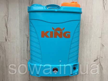 ✔️ Акумуляторний обприскувач KING   16L, 12Ah, фото 2