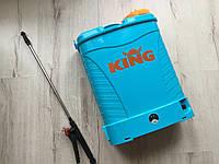 ✔️ Аккумуляторный опрыскиватель KING | 16L, 12Ah