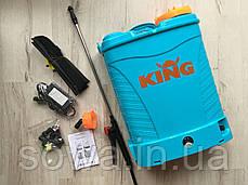 ✔️ Аккумуляторный опрыскиватель KING | 16L, 12Ah, фото 3