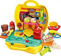 Набор пластилина Bowa Снэк бар в чемоданчике Разноцветный (8730)