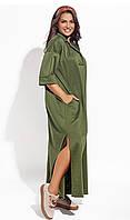 Платье свободный силуэт большие размеры, фото 1