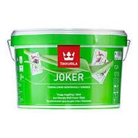 Краска Тиккурила Джокер 2.7л база С Шелковисто-матовая акрилатная для тонировки темных цветов