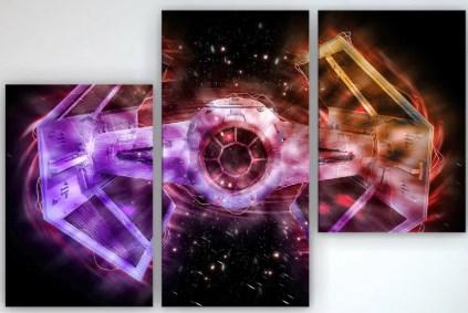 Картина модульная на холсте Звездные войны 90х60