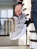 Мужские Кросcовки Nike  Air Force 270 серо-белые, фото 2