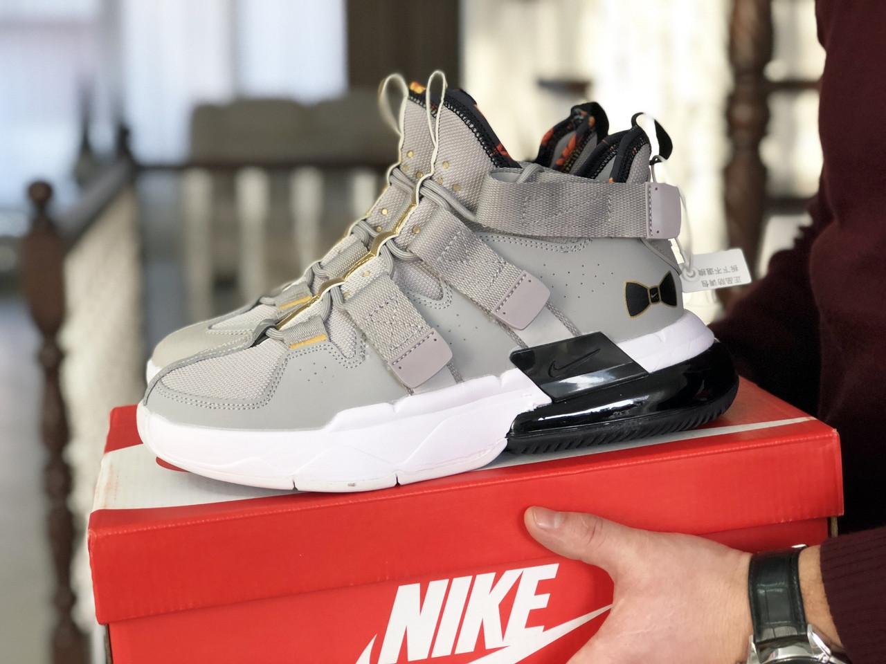 Чоловічі Кросівки Nike Air Force 270 сіро-білі