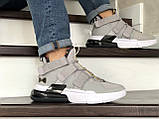 Чоловічі Кросівки Nike Air Force 270 сіро-білі, фото 5
