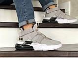Мужские Кросcовки Nike  Air Force 270 серо-белые, фото 5