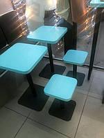 Меблі лофт для мережі кав*ярень Бінокль Кава (м. Київ) 3