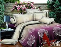 ✅  Двуспальный Евро комплект постельного белья (Поликоттон) TAG XHY096