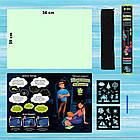 Набор для творчества Рисуй светом А2 (59х39 см) односторонний коврик ТМ Люмик, фото 6
