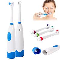 Электрическая зубная щетка с насадками