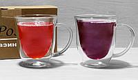 Чашки с двойными стенками  350мл 6752