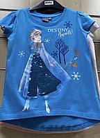 Футболка для девочек Disney, 98/104-134 рр . Артикул: 02032