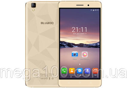 "Смартфон Bluboo Maya золотой цвет (экран 5.5"", памяти 2GB RAM+16GB ROM, емкость акб 3000 мАч)"