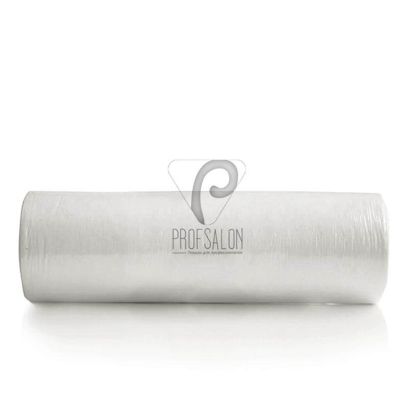 Безворсовые салфетки Doily 20х20см 40 г/м2, гладкие/сетка, с перфорацией, со спанлейса, в рулоне 100шт