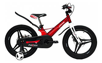 """Велосипед дитячий Ardis MG FALCON-X 18"""" колеса на литих дисках і магнієвої рамі Червоний"""