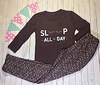 Пижама женская хлопковая без утепления Размер 44-46