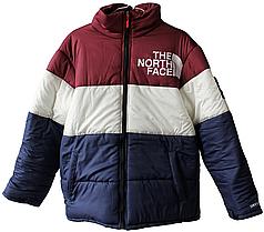 Куртка The North Face Bordo/White/Blue (ориг.бирка)