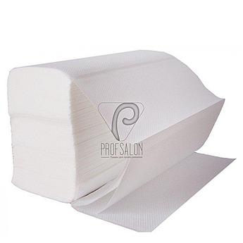 Полотенце бумажное Z-типа - для гигиенического высушивания рук (200 шт.в упаковке)