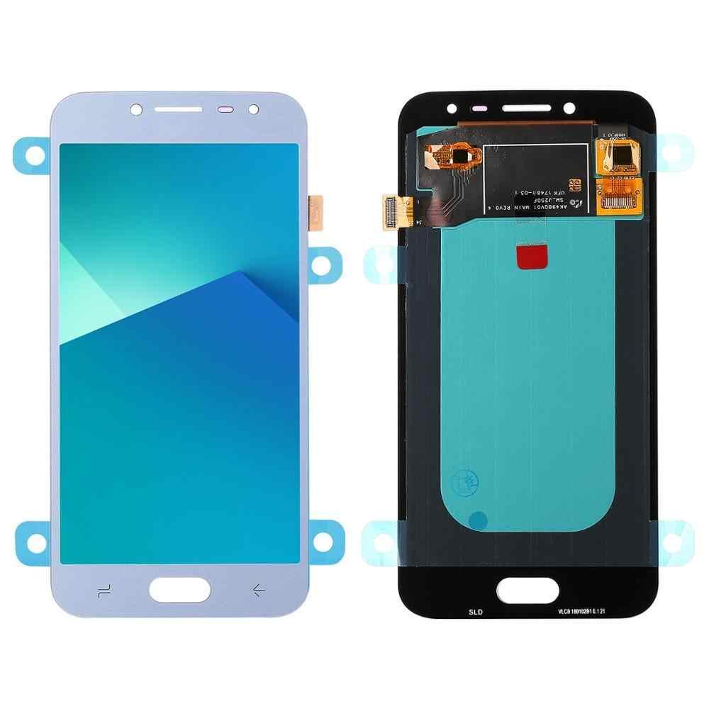 Дисплей для Samsung J250 Galaxy J2 2018 с сенсором Яркость не регулируется (Серебристый) TFT