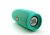 Портативная bluetooth колонка в стиле JBL Charge mini 3+ (Мятная)