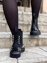 "Ботинки Alexander McQueen Chelsea ""Черные"", фото 2"
