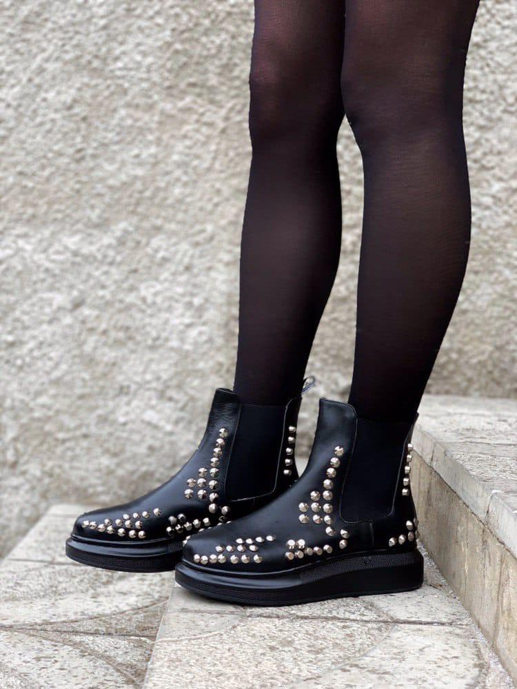 """Ботинки Alexander McQueen Chelsea """"Черные"""""""