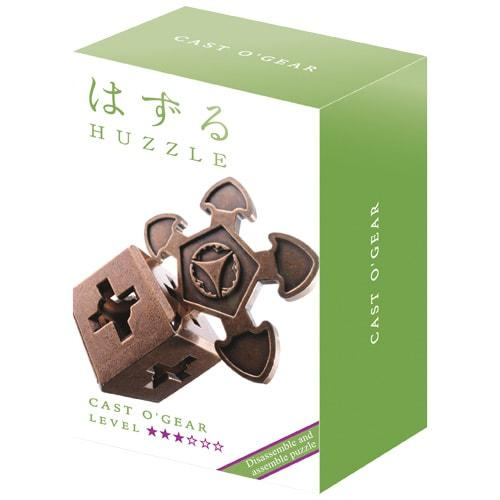 Huzzle O`Gear 3* Металлическая головоломка Шестеренка Hanayama (Japan)