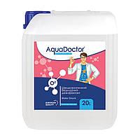 Дезинфектант на основе активного кислорода AquaDoctor Water Shock О2 (1л.)