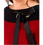 Платье женское без застёжек красное, фото 2