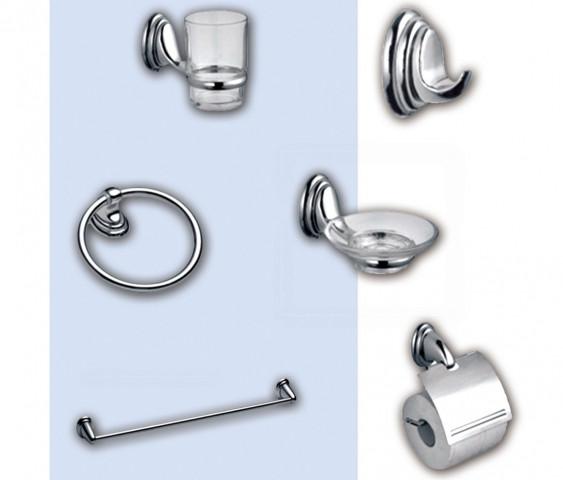 Набор аксессуаров 6 предметов для ванной комнаты Tomford