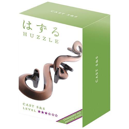 Металлическая головоломка | Huzzle S&S | 3* | Hanayama (Japan)