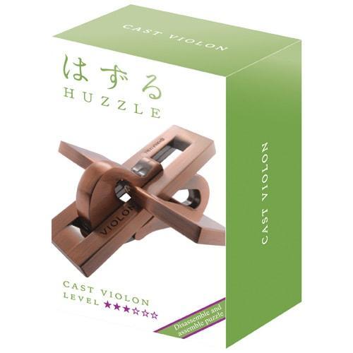 Huzzle Violon 3* Металлическая головоломка Скрипка Hanayama (Japan)