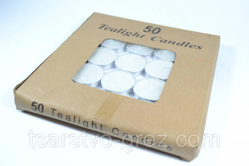Свечи чайные таблетка 50 шт