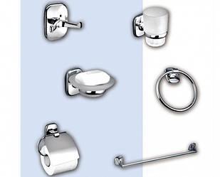 Набор аксессуаров 6 предметов для ванной комнаты SIGG