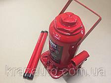 Домкрат бутылочный, 20т, красный H=230/430