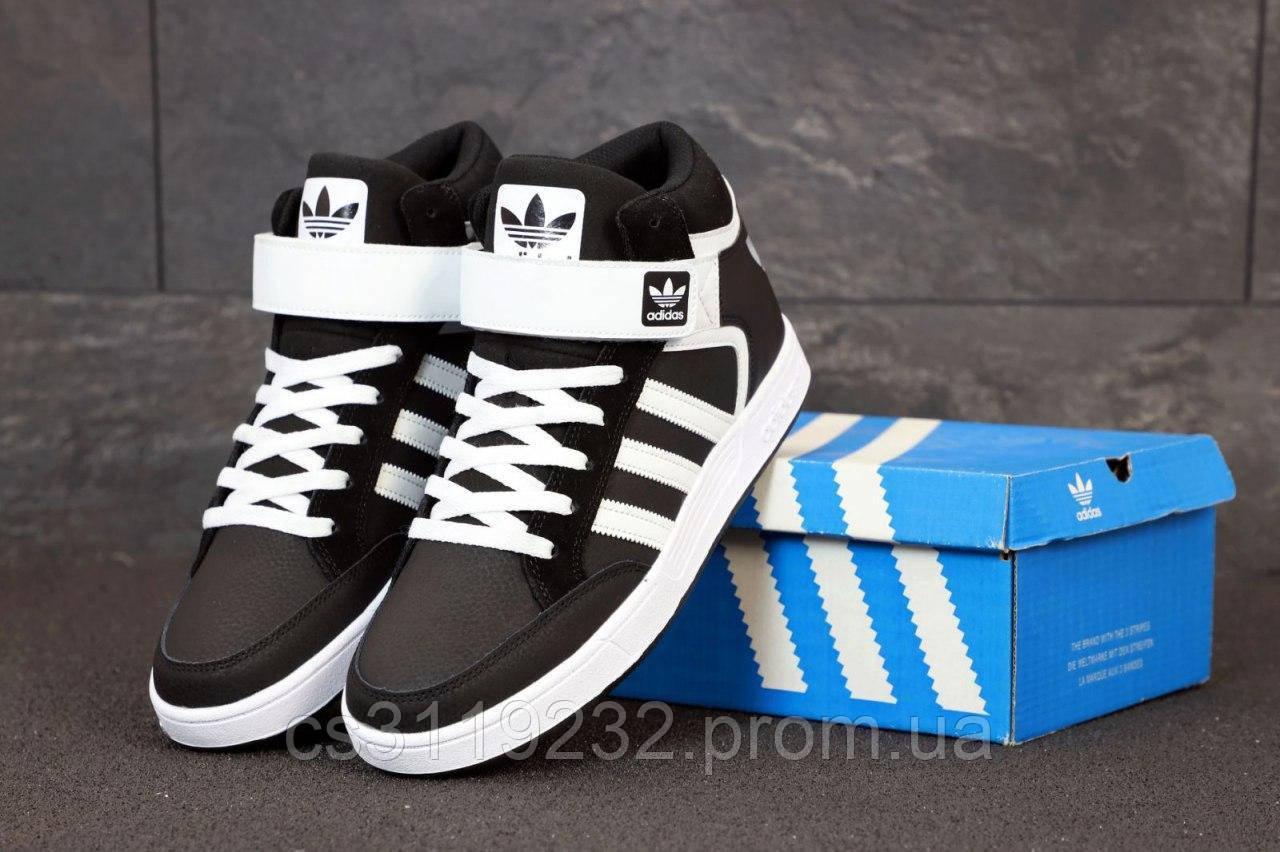 Мужские кроссовки Adidas Varial Mid (черный)