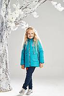 Демисезонная куртка на девочку ANSK 122 голубая 7334000D, фото 1