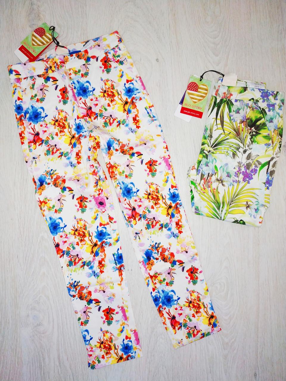 Котонові штани на дівчинку, Glo-story, Угорщина, арт. 8939