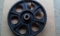 Шкив (D=170 мм, d=17 мм, гладкий, пластик) бетономешалки